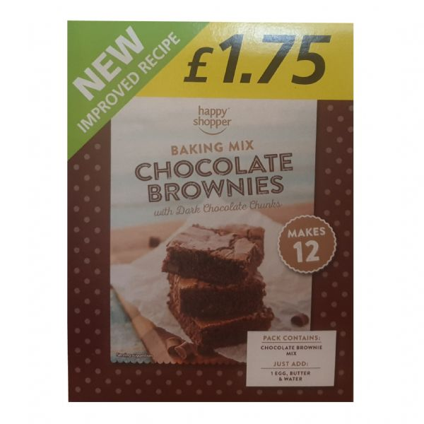 Chocolate Brownies Home Baking Kit Happy Shopper 284g